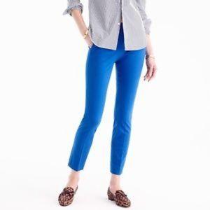 J. Crew Blue Martie Slim Crop Pants